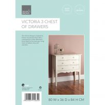 Victoria 3 Chest Of Drawers