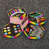 52-Piece Craft Art Stationery Box