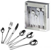 50pc Stainless Steel Cutlery Set
