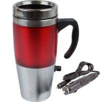 Heated Travel Mug - Red
