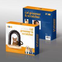 Cat Groomer & Scratcher