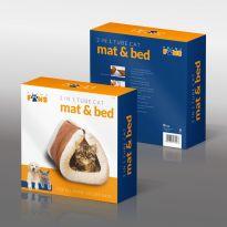 2 In 1 Tube Cat Mat & Bed