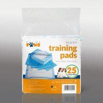25Pcs Puppy Training Pads 45x60cm
