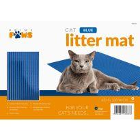 Jumbo Litter Mat - Blue