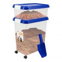 Blue - Pet Food Storage Bin