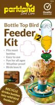 Pack of 2 Bottle Top Bird Feeder (Parkland)
