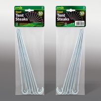 10Pk Steel tent Steaks