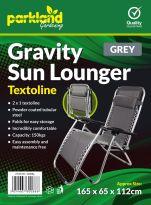 Folding Zero Gravity Outdoor Chair - Grey