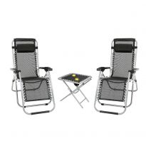 Gravity Lounger Table & Chair Set