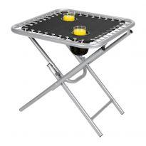 Folding Drinks Side Table - Black