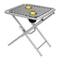 Folding Drinks Side Table - Grey