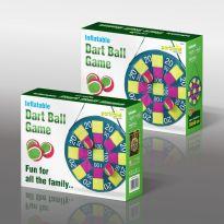 Inflatable Garden Dart Ball Game