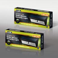 44 Led Solar Security Sensor Light