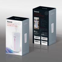 Black - Color Changing Mini USB Ultrasonic Air Humidifier