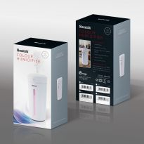 White - Color Changing Mini USB Ultrasonic Air Humidifier