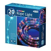 20M Rope Light - Multi Coloured