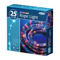 25M Rope Light - Multi Coloured