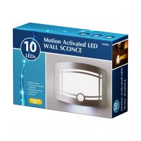10 Led Motion Activated Led Wall Sconce Light