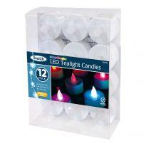 12Pk Tea Lights - Colour Changing
