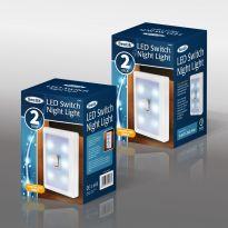 2Pk Led Switch Night Light