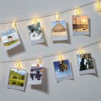 10 Led Photo Clip String Lights