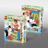 Kids Supermarket Sales Platform Playset