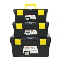3 Pc Plastic Tool Box