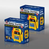 Portable 4 In 1 Jump Starter