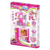 Pink Cookware Kitchen Play Set