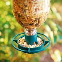 Pack of 2 Bottle Top Bird Feeder