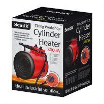 Round Industrial Fan Heater - 3000w